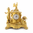 Table clock with allegory of sciences []