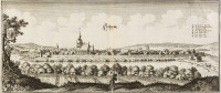 Set of Four Views of German Towns [Matthäus Merian (1593-1650)]
