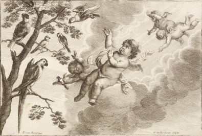 Air [Václav Hollar (1607-1677)]