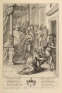 Illustration for the Aeneid (Escaping Aeneas) [Václav Hollar (1607-1677) Francis Cleyn (1589-1658)]