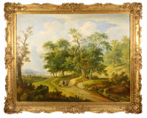 Landscape with a Hunting Motif [Karl Altmann (1802-1861)]
