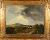 Landscape with Riders in the Sunset [Anonym]