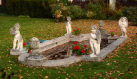 Garden Sculptures Four Seasons []