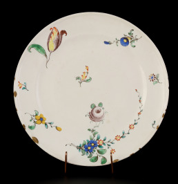 Plate with Flowers