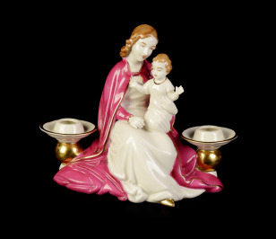Madonna with Child - Candelabrum