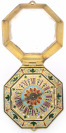 Octagonal Watch with Enamels []