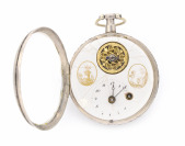 Pocket Watch with Balancing Wheel in the Dial []
