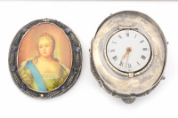 Table Clock with a Portrait of Elizabeth Petrovna []