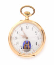Gold Pocket Watch with an Erotic Scene []