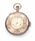 Pocket Watch with Allegorical Figures, Quarter Repeating []