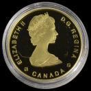 Gold Coin 100 Dollars JACQUES CARTIER []