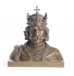 Bust of George of Poděbrady