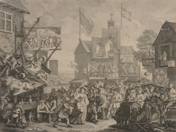 Southwark Fair [William Hogarth (1697-1764)]