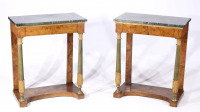 A Pair of Console Tables []