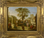 Society by the Tree [Nicolas Lancret (1690-1743)]