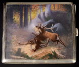 Hunting Cigarette Case []