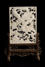 Table Panel of Pierced Ivory []