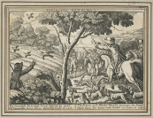 Partridge Hawking  [Václav Hollar (1607-1677)]