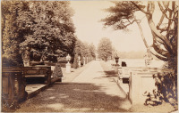 The Lincoln Terrace, Clumber Park [George Washington Wilson (1823-1893)]