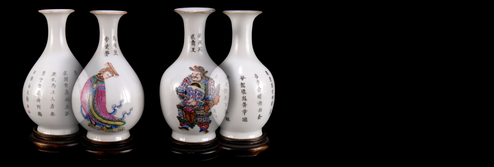 China, Republic of China period (1920-1930) [A PAIR OF VASES]