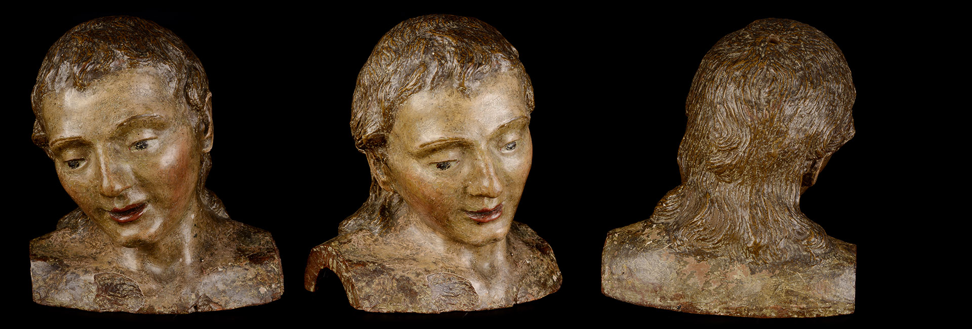 Italy, beginning of the 16th century [Renaissance bust of a young man]